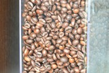 Detailed view on coffeemaking items