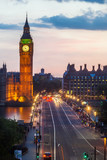 Big Ben in the evening, London, England. - 192982376
