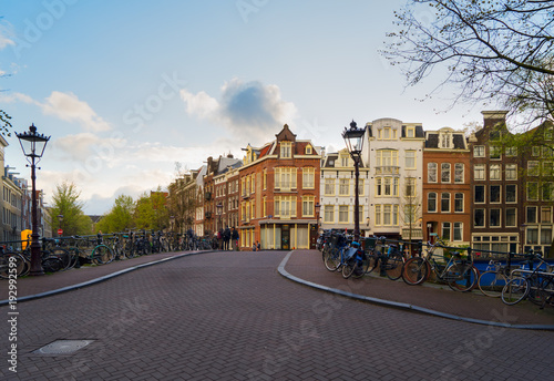 Foto op Canvas Amsterdam Houses of Amstardam, Netherlands