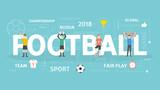 Football concept illustration. - 192995305