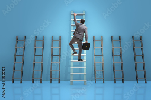 career-progression-concept-with-various-ladders