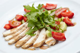 chicken fillet with salad - 193022757