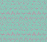 Flowers on a blue background. Seamless floral pattern. Spring background. Cherry blossoms. Blooming cherry. - 193033146