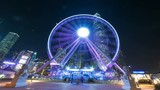hyper lapse, Observation Wheel, Hong Kong - 193042167