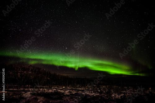 Foto op Aluminium Heelal Northern lights