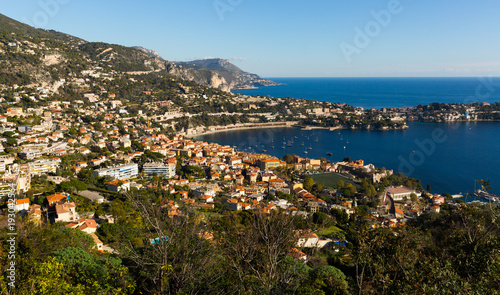 Foto op Aluminium Nice Panoramic view of Nica in France