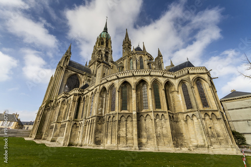 Cathedral Bayeux back view
