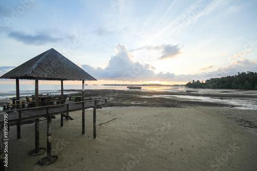 Plexiglas Khaki Mak island Koh Mak Trat Thailand