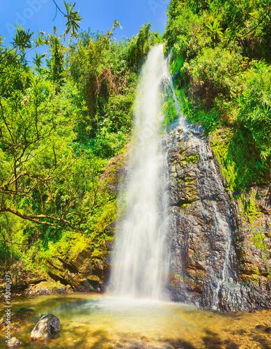 Beautiful Kaeng Nyui Waterfalls. Laos landscape. - 193080375