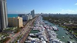 Stock footage Miami boat show