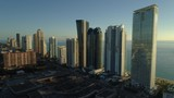 Sunny Isles Beach aerial drone video shot 4k