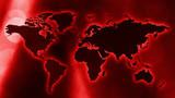 News world map modern title idea