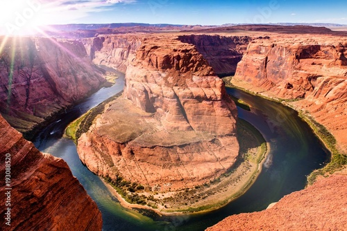 Aluminium Koraal Horseshoe Bend in Arizona