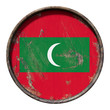 Old Maldives flag