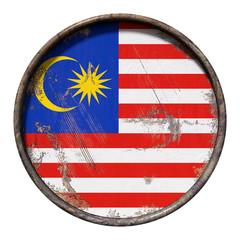 Old Malaysia flag