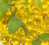 масло для здоровья в круглых капсулах жёлтого цвета  - 193094184