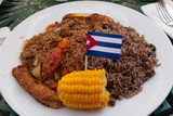 Ropa vieja, the traditional cuban meal
