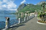 an der Seepromenade im Urlaubsort Menaggio am Comer See,Lombardei,Italien - 193097961