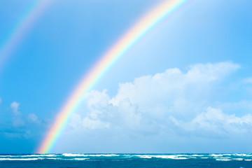Dominican Republic Double rainbow