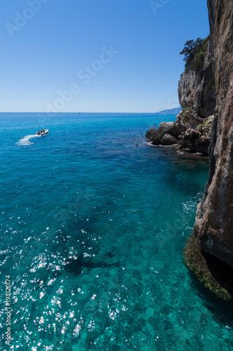 Deurstickers Tropical strand Sardegna