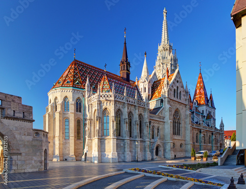 Fotobehang Boedapest Budapest - Mathias church, Hungary