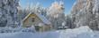 winter in Lapland, Sweden, Norrbotten