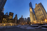 Chicago downtown buildings - 193150187