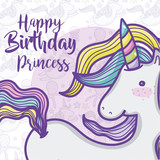 Happy birthday card for girls - 193159184
