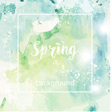 Spring abstract texture background - 193177743