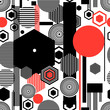 Seamless beautiful geometric pattern - 193178349