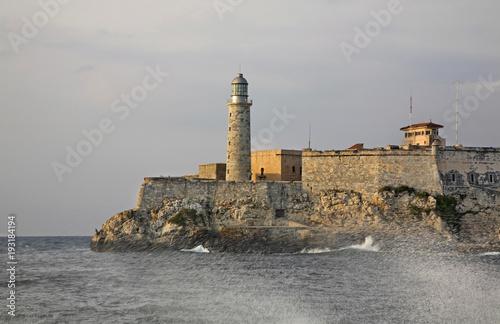 Staande foto Havana Morro fortress in Havana. Cuba