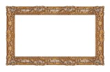 Golden frame for paintings, mirrors or photos - 193184974