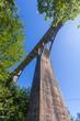 Quadro view of the Djurdjevica Bridge over the Canyon of the Tara River. Montenegro.