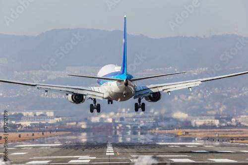 samolot,-pas-startowy-zdjecie,-plakat