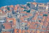 Adriatic Sea and Old City of Dubrovnik in Croatia - 193216720
