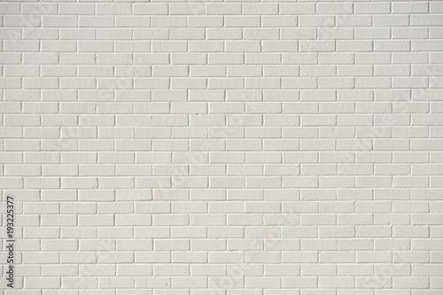 In de dag Baksteen muur white brick wall background