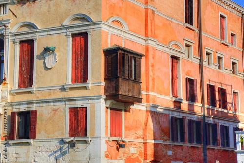 Fototapeta Venice streets near Saint Marco square