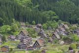Historical village of Shirakawa-go in Japan - 193231972