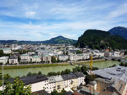 Austria, Saltzburg, cityview