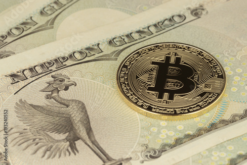 bitcoins-on-japanese-yen-bills