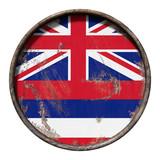 Old Hawaii flag - 193245189