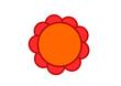 vecteur logo,fleur