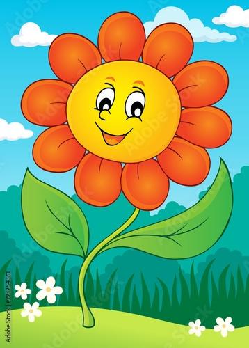 Aluminium Voor kinderen Happy flower theme image 4
