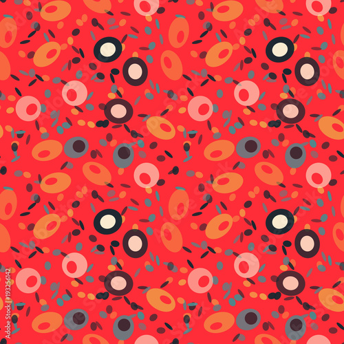 Wonderful fruits seamless pattern. Autentic design for textile, print or digital. - 193256142