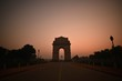 India Gate early morning at sunrise time