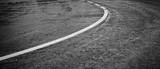 Curve on asphalt - 193315994