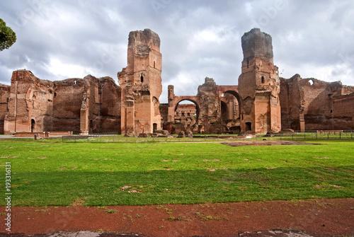 Poster Rome Terme di Caracalla, Roma
