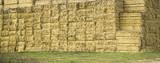 Straw bale field - 193316949