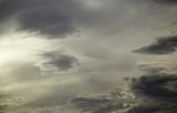 Gray cloudy sky - 193317504