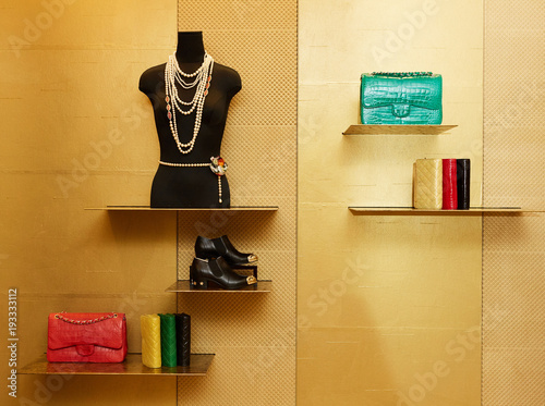 34573d05d558 luxury and fashionable european different clothes shop